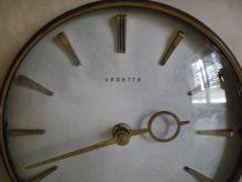 Horloge Mécanisme Vedette en laiton Année 1965