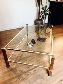 Table basse rectangulaire Pierre Vandel