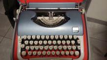 machine à écrire ancienne JAPY script vintage