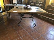 NOUVELLE TABLE EXTENSIBLE EN CHÊNE REF.TM002
