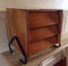 Chevet vintage, meuble d'appoint