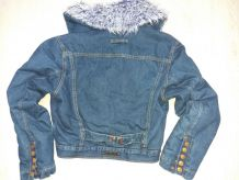 Veste collector en jean  Jean Paul Gaultier