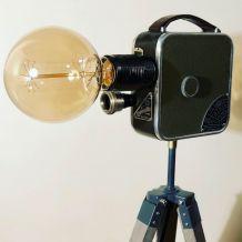 Lampe vintage Georgette Reinette - Atelier Monsieur Lumière