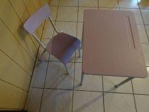 bureau et chaise vintage
