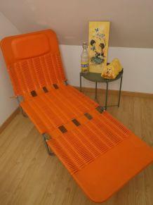 Chaise longue Kurz Design 1960/70