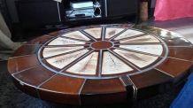 Table basse ceramique signe capron