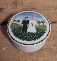 Boite en porcelaine Villeroy & Boch