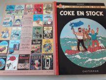 LOT DE 5 bandes dessinées TINTIN  reedition 1966