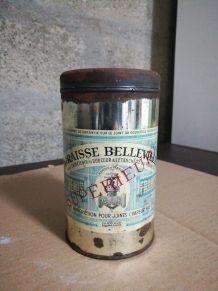 """Pot ancien de graisse """"Belleville"""""""