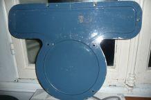 Plaque fronale locomotive SNCF bleue