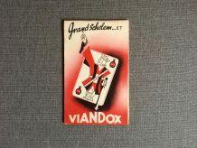 Publicité  VIANDOX  bridge 1951