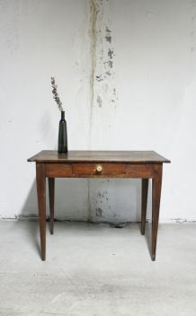 Table bureau de ferme d'époque 1950