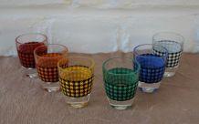 6 verres à liqueur Luminarc Vintage J.G. Durand