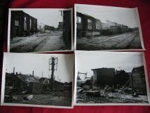 46 PHOTOS BOMBARDEMENT 1944