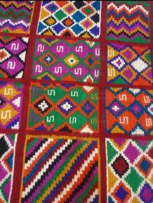Kilim tapis multicolore