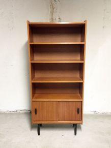 Meuble bibliothèque vintage 1950's style Pierre Guariche
