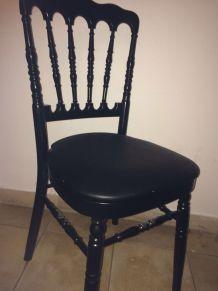 Lot de 4 chaises de style Napoléon 3