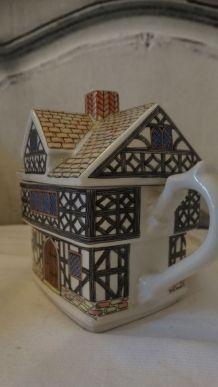 Collection théière porcelaine Sadler Henry VIII English coun