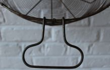 Grand ancien panier en métal