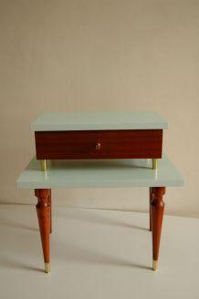Table de chevet vintage années 50/60