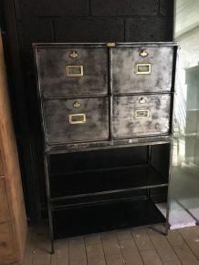 Cabinet industriel 1940 à 4 clapets