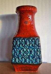 Vase céramique Bay West Germany années 60 70