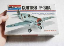 maquette avion Curtiss P-36A 1/72