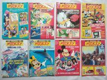 21 journaux de Mickey années 92 à 94