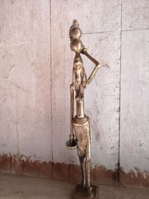 Statuette en laiton