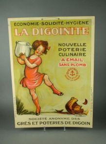 Carton publicitaire La digoinite
