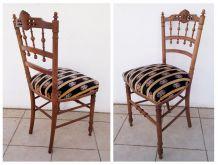 Paire de chaises anciennes