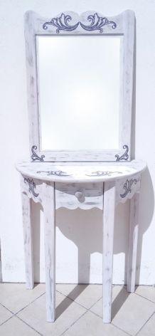 Ensemble console + miroir