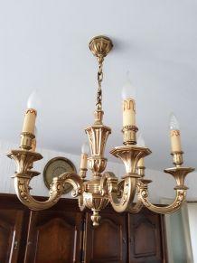 Lustres bronze véritable