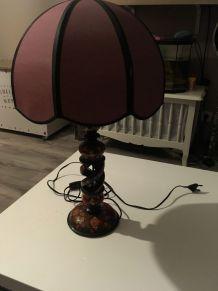 Lampe 1950  chinoise