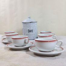 Tasses à café vintage Yves Deshoulières
