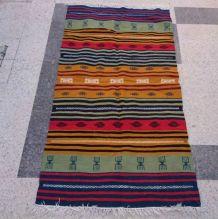 Tapis kilim berbère multicolore 190cm*105cm