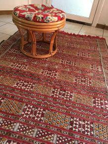 Tapis kilim marocain.