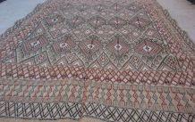Tapis berbère fait main en laine