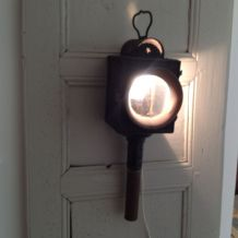 Lanterne de calèche électrifiée