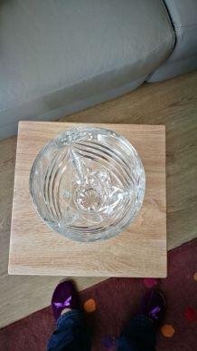 Vend vase en cristal  d'Arque