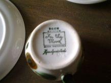 Joli service à café Boch