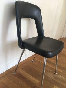 Chaise vintage noire