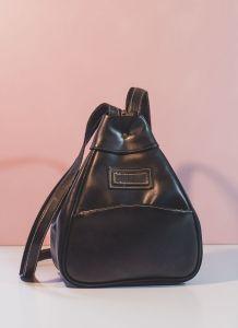 Magnifique sac à dos noir Vintage so 80's 90's