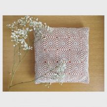 Coussin napperon