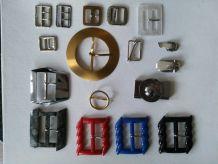 Lot de boucles de ceintures vintage
