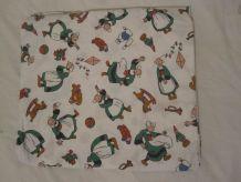 draps motif bécassine 1995