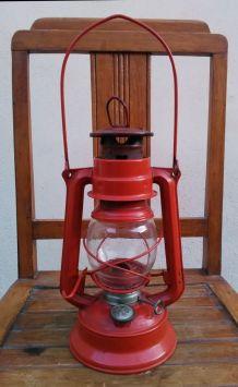 Jolie lampe tempête orange - MEVA