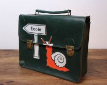 Cartable enfant vintage