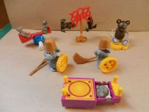 KINDER LES SOURIS MALICIEUSES SERIE COMPLETE