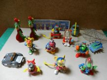 KINDER LES CYBERTOPS SERIE COMPLETE 2003 + 1 BPZ